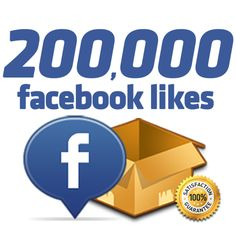 200,000 Facebook Likes Just 399$ | Instant Promotion - Grow your Social presence today http://instant-famous.com/products/200-000-facebook-likes