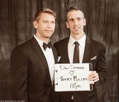 LGBT rights activist and sex columnist Dan Savage marries husband Terry Miller in Seattle
