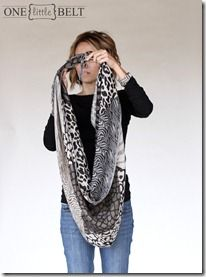 more ideas for tying a scarf.