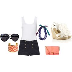 perfeect for summer, created by krfish on Polyvore