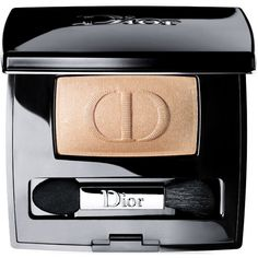 Dior Beauty Diorshow Mono Eyeshadow ($30) ❤ liked on Polyvore featuring beauty products, makeup, eye makeup, eyeshadow, beauty, christian dior, christian dior eye shadow and christian dior eyeshadow