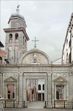 La Scuola Grande San Giovanni Evangelista (Venise) Saint John the Evangelist~ Venice, Italy