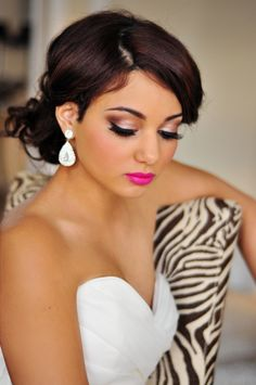 Bridal makeup by www.beautifulfacesbymelissa.com