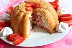 Voici la recette d'une charlotte aux fraises! #superbonne #mesabella #gourmandises