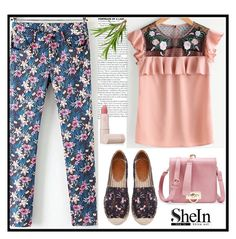 """""""SHEIN 3"""" by merisa-imsirovic ❤ liked on Polyvore featuring Lipstick Queen"""