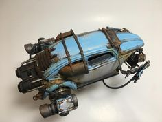 RocketWagen - Jet powered VW beetle scratch built weathered