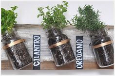 Mason Jars, and the nearly limitless ways they can be repurposed.
