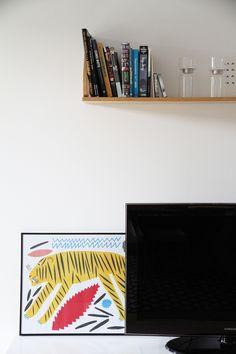 marimekko juliste olohuone sisustus home hunajaista koti Marimekko, Plank, Magazine Rack, Koti, Storage, Poster, Design, Home Decor, Purse Storage