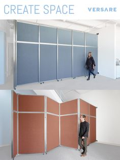 Our Operable Walls are affordable and work wonders in your space. Partition off a room in seconds.