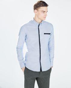 Image 1 of PLAIN OXFORD SHIRT from Zara