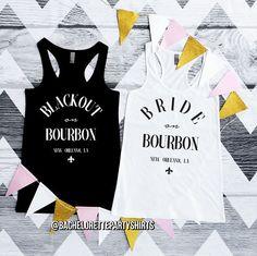 Blacked Out on Bourbon Street Bourbon Street Bride on