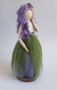 Needle felt doll