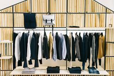 Romeo Store by Silvio Girolamo, Adelfia – Italy Visual Merchandising, Retail Fixtures, Design Furniture, Retail Design, Stores, Store Design, Wardrobe Rack, Italy, Boutique