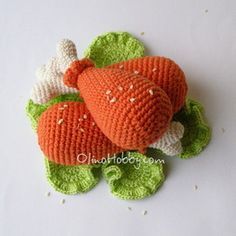 OlinoHobby: crochet food