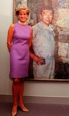 Diana with Dr Chang portrait