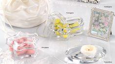 Scatoline in vetro, mini cornice e portacandela