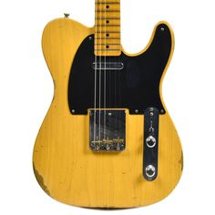 Fender Custom Shop 1951 Telecaster Ash Relic MN Aged Butterscotch Blonde (Serial #R16591)