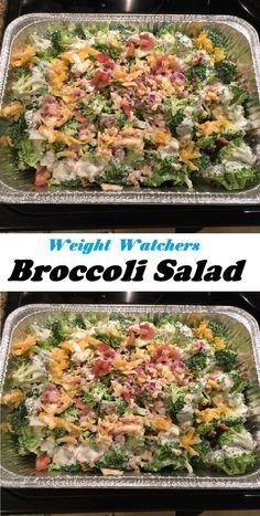 #Easy #Broccoli #Salad Skinny Recipes, Easy Healthy Recipes, Low Carb Recipes, Unique Recipes, Delicious Recipes, Interesting Recipes, Easy Broccoli Salad, Kids Meals, Easy Meals