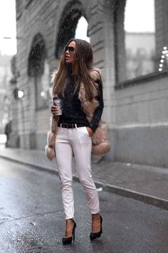 Fur vest   Fall Style