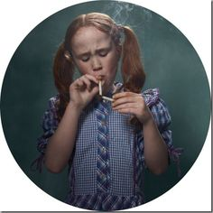 "Juxtapoz Magazine - ""Smoking Kids"" by Frieke Janssen Kind Photo, Kids Series, Trip Hop, Glamour Shots, Girl Smoking, Anti Smoking, Smoking Ladies, Photo Series, Big Picture"