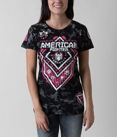 American Fighter North Dakota Artisan T-Shirt - Women's T-Shirts in Black American Fighter Shirts, Fall Outfits, Cute Outfits, New Wardrobe, Wardrobe Ideas, Female Fighter, T Shirts For Women, Clothes For Women, North Dakota