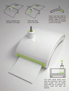 printer that uses a pencil