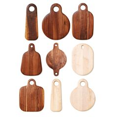 Walnut and light maple boards from Geoffrey Lilge