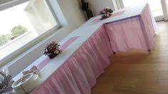 Banchetto battesimo   #allestimento #events #tuttorosa #handmade