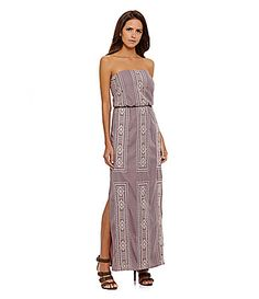 Gianni Bini Sansa Embroidered Maxi Dress #Dillards