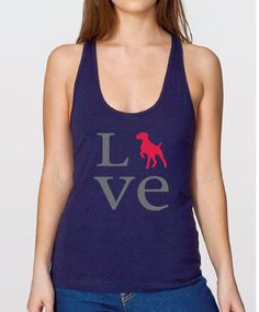 Righteous Hound - Women's Love Akita Tank Top, Available in dog breeds American Eskimo Dog, German Shorthaired Pointer, How To Make Tshirts, Chihuahua, Yorkie, Athletic Tank Tops, Cute Outfits, My Style, Animales