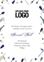 online corporate invitation card collection with special designs for uploading images and logos choose