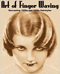"""Vintage Hairstyles """"Art of Finger Waving: Recreating Vintage and Hairstyles,"""" by Paul Compan. I wonder if my hair could be finger-waved. Gatsby Headpiece, Flapper Headband, Gatsby Hair, Finger Wave Hair, Finger Waves, Steampunk Hairstyles, Pin Up, Traditional Hairstyle, Retro Updo"""