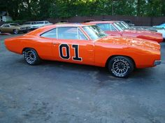 1969 Dodge Charger - The General Lee - Who DIDN'T want this car as a kid in the 80's?!