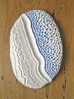 Porcelain sculptural wall art. Inspired by nature. by mairistone