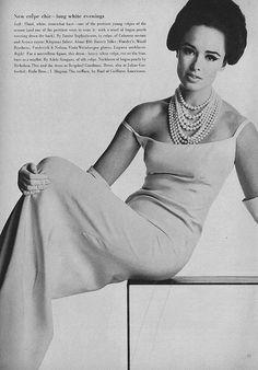 Sondra Peterson, March Vogue 1963