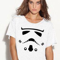 1 Storm Trooper Movie Star Wars Flowy