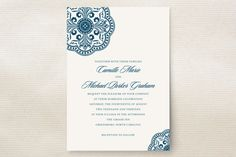 Ornamental Wedding Invitations by Paperview Design... | Minted