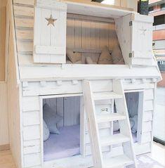 Literas cabañas de madera, Il mondo di Alex http://www.mamidecora.com/muebles-camas-infantiles-de-cuento.html