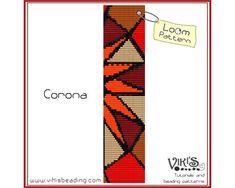 Loom Bracelet Pattern Corona  INSTANT by VikisBeadingPatterns, $6.50