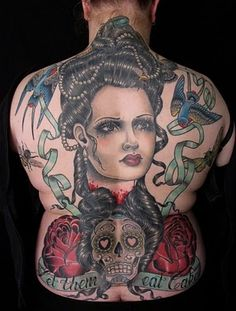 da1cf9e912bae Rose Hardy is a painter and tattoo artist working at Kings Avenue Tattoo in  New York City.