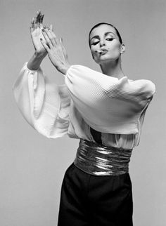 Model Apollonia in Vogue Italia, 1980. Photo: Gian Paolo Barbieri.
