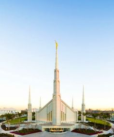 The Church of Jesus Christ of Latter Day Saints Temple in Buenos Aires, Argentina.  (also known as Mormon Temples)
