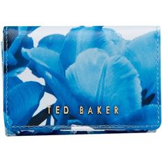 Ted Baker Oleta Leather Coin Purse, White (£31) ❤ liked on Polyvore featuring bags, wallets, leather coin purse, snap coin purse, ted baker wallet, leather change purse and change purse wallet