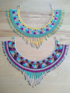 Your place to buy and sell all things handmade Beaded Choker Necklace, Star Necklace, Beaded Jewelry, Crochet Necklace, Mexican Jewelry, Mexican Style, Loom Beading, Silver Beads, Necklace Lengths