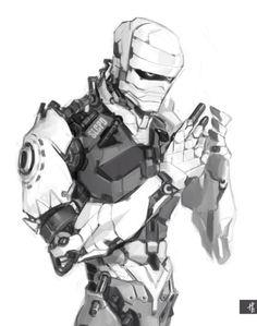 R-robot Joshua Graham...