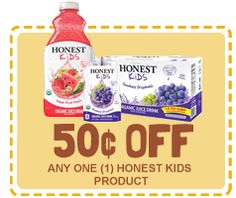 Four New Organic Coupons for Kids From Rock the Lunchbox