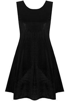 The Home of Fashion Womens Black Velvet Sleeveless Skater Dress (6) The Home of Fashion http://www.amazon.co.uk/dp/B00OOXRJDA/ref=cm_sw_r_pi_dp_m3osub1BHFD9W