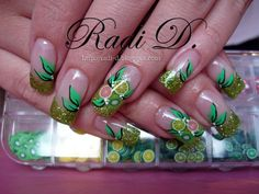 It`s all about nails: Fruit Salad