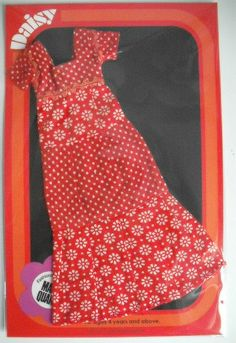 MARY QUANT DAISY DOLL CHERRY PIE (65009) DRESS MINTY CONDITION