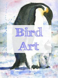 chicken | penguins | penguin | peacock | birds | ducks | duck | bird | chickens | watercolor | peacocks | bird drawing | mixed media | bird drawings | bird paintings | animal art | bird art | peacock art | best bird art pins → https://www.pinterest.com/schulmanart/bird-art/